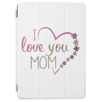 Coeur de jour de mères de maman d'amour protection iPad air