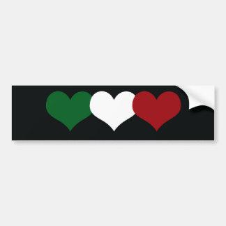 Coeur de l Italie Adhésifs Pour Voiture