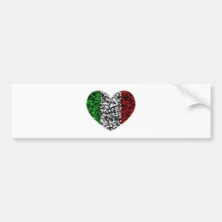Coeur de l'Italie Autocollants Pour Voiture