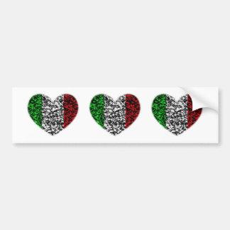 Coeur de l'Italie Adhésif Pour Voiture