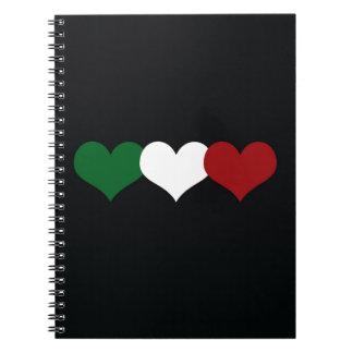 Coeur de l'Italie Carnet À Spirale