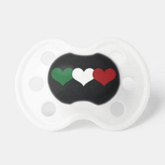 Coeur de l'Italie Tétines Pour Bébé