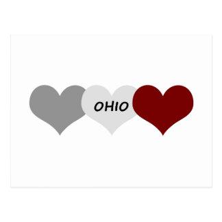 Coeur de l'Ohio Carte Postale