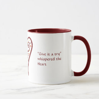 Coeur de motivation mug