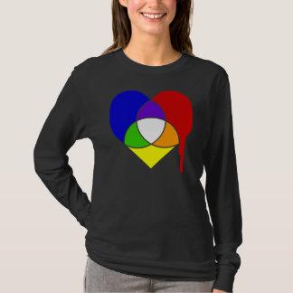 coeur de nuancier t-shirt
