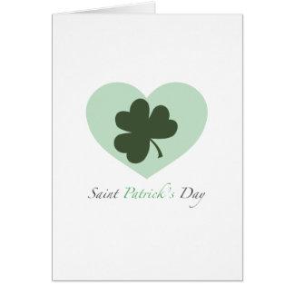Coeur du jour de Patrick de saint Carte