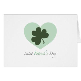 Coeur du jour de Patrick de saint Carte De Vœux