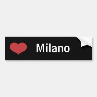 Coeur Milan Autocollant De Voiture