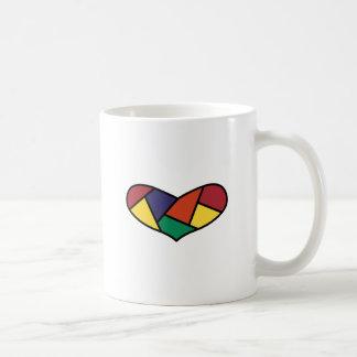Coeur piqué mug