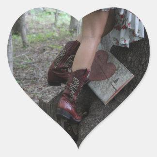 Coeur Sticker Cœur