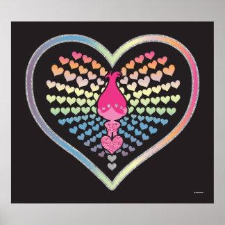 Coeurs de pavot des trolls | poster