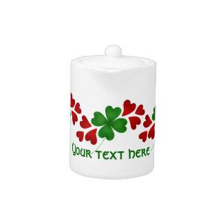 Coeurs et trèfles de Jour de la Saint Patrick