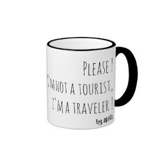 Coffee cup of traveler mug ringer