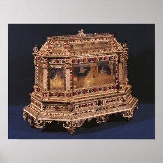 Coffre de mariage, 1753