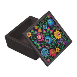 Coffret A Bijoux Boîte-cadeau florale de minuit gitane