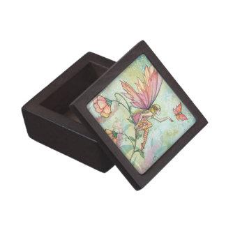 Coffret A Bijoux Jolie boîte-cadeau de prime de fée et de papillon