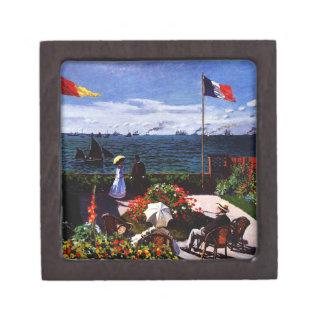 Coffret A Bijoux Terrasse de Claude Monet-The chez Sainte-Adresse