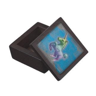 Coffret Cadeau De Première Qualité Boîte-cadeau de souvenir de licorne (nébuleuse