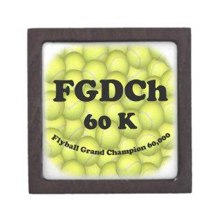 Coffret Cadeau De Première Qualité FGDCh 60K, champion grand de Flyball, 60.000