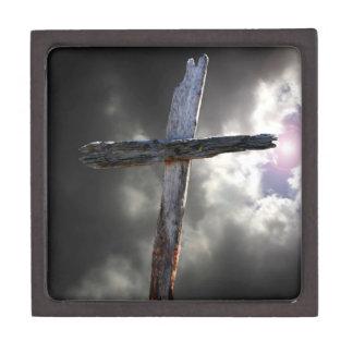 Coffret Cadeau De Première Qualité La vieille croix en bois