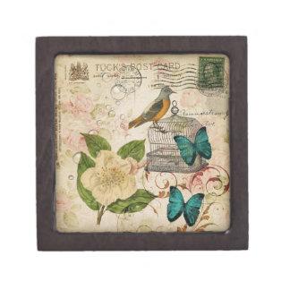 Coffret Cadeau De Première Qualité oiseau botanique de Français de cage à oiseaux de