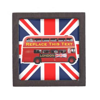 Coffrets Cadeaux De Première Qualité Autobus à impériale rouge de Londres