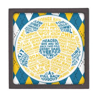 Coffrets Cadeaux De Première Qualité Boîte typographique de bibelot de ballon de