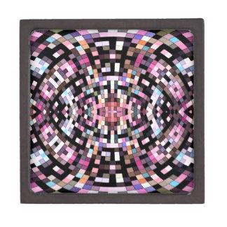 Coffrets Cadeaux De Première Qualité Géométrique rose et noir Trippy