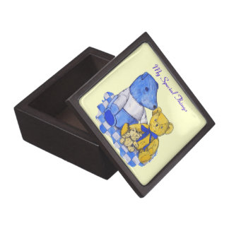 Coffrets Cadeaux De Première Qualité trois nounours mignons sur l'art d'original de