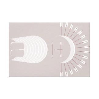 COIFFE de FLÈCHE de toile enveloppée par prime