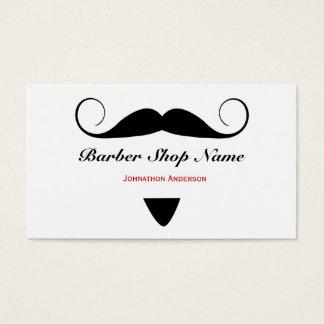 Coiffeur à la mode de salon de coiffure de cartes de visite
