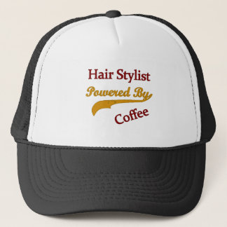 Coiffeur actionné par le café casquette
