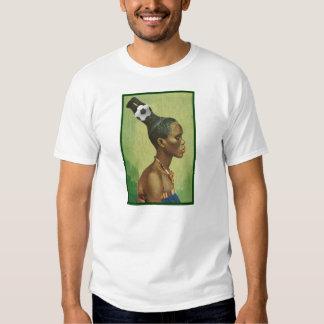 Coiffures de zoulou en 2010 pour des amants du t shirt