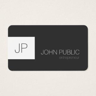 Coins arrondis de minimaliste élégant moderne cartes de visite