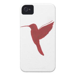 Colibri rouge coques iPhone 4