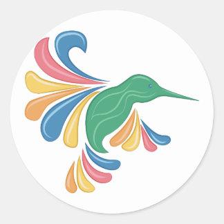Colibri Sticker Rond