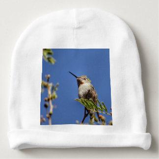 Colibri sur la branche par SnapDaddy Bonnet Pour Bébé