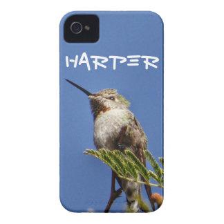 Colibri sur la branche par SnapDaddy Coques iPhone 4 Case-Mate