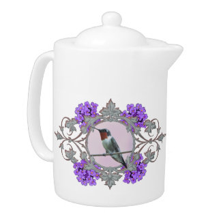Colibri Throated rouge