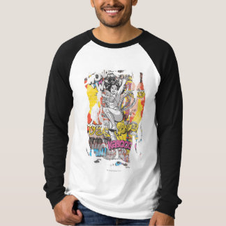 Collage 1 de femme de merveille t-shirt