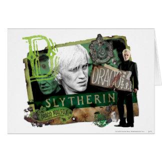Collage 1 de Malfoy de Draco Carte De Vœux