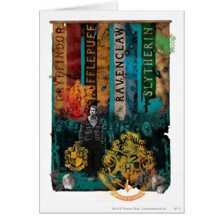 Collage 1 de Neville Longbottom Carte De Vœux