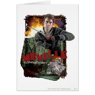 Collage 2 de Neville Longbottom Carte De Vœux