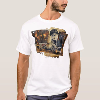 Collage 7 de Harry Potter T-shirt