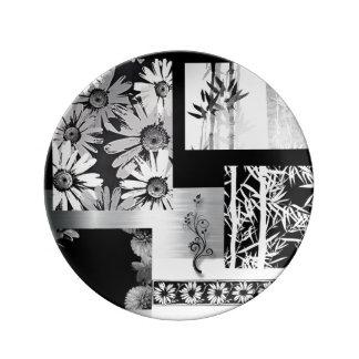 copie botanique assiettes copie botanique motifs pour. Black Bedroom Furniture Sets. Home Design Ideas