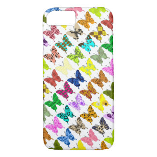 Collage de papillon coque iPhone 7