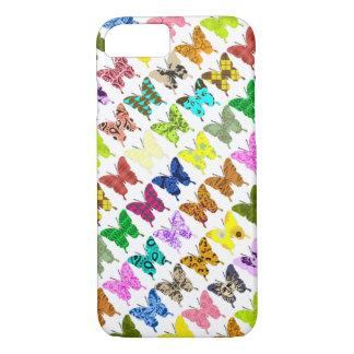 Collage de papillon coque iPhone 8/7