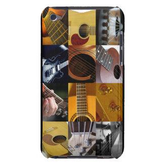 Collage de photo de guitare étui iPod touch
