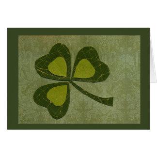 Collage du jour de Patrick de saint # 29 Carte