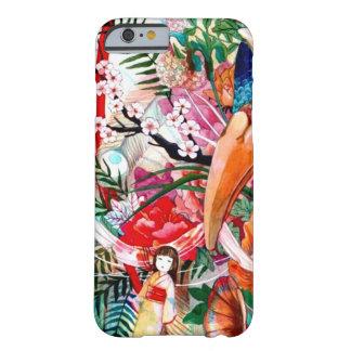 Collage japonais de couleur coque iPhone 6 barely there